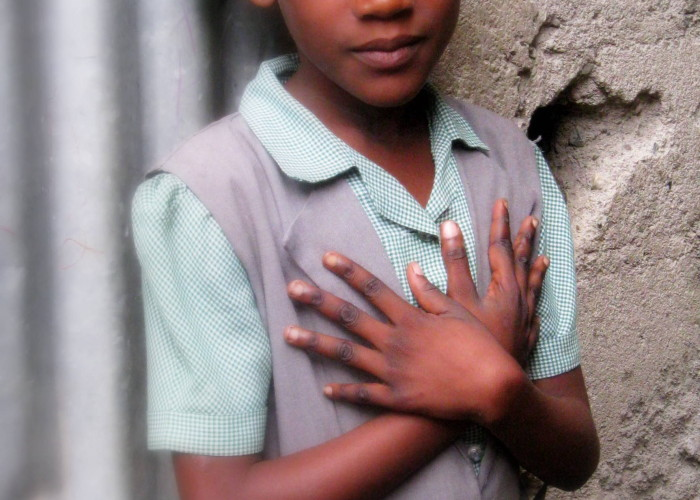 School Girl – Haiti