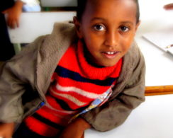 School Boy in Ethiopia